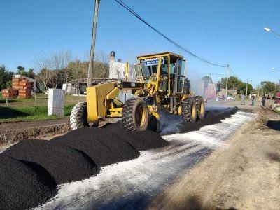 La Municipalidad realizó trabajos de mantenimiento integral en El Colmenar