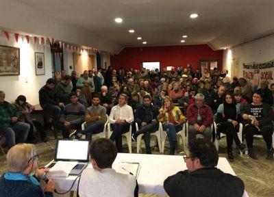 La asamblea radical eligió por unanimidad a Gonzalo Diez como candidato