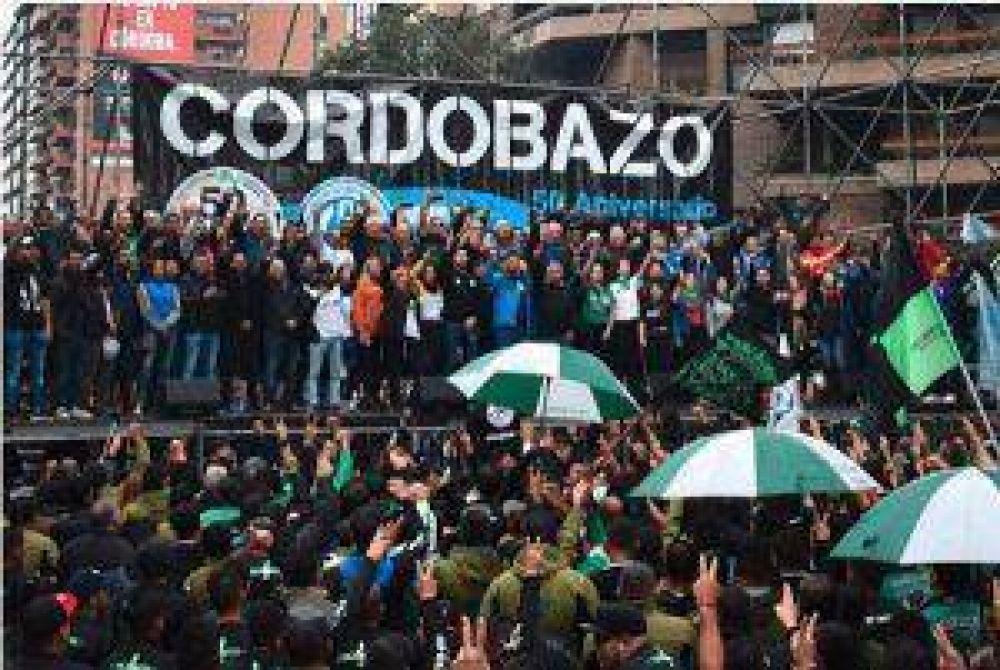 Los K coparon el Cordobazo (Suárez cargó contra el PJ)