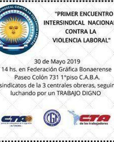 Presentación de la Red Nacional Intersindical contra la violencia laboral