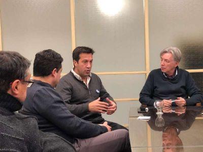 La Cámara Comercial de Necochea se reunió con Arturo Rojas