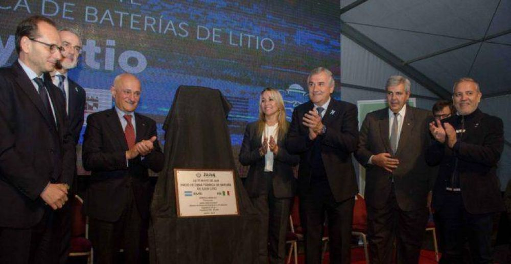 Jujuy tendrá la primer fábrica de baterías de iones de litio de latinoamerica