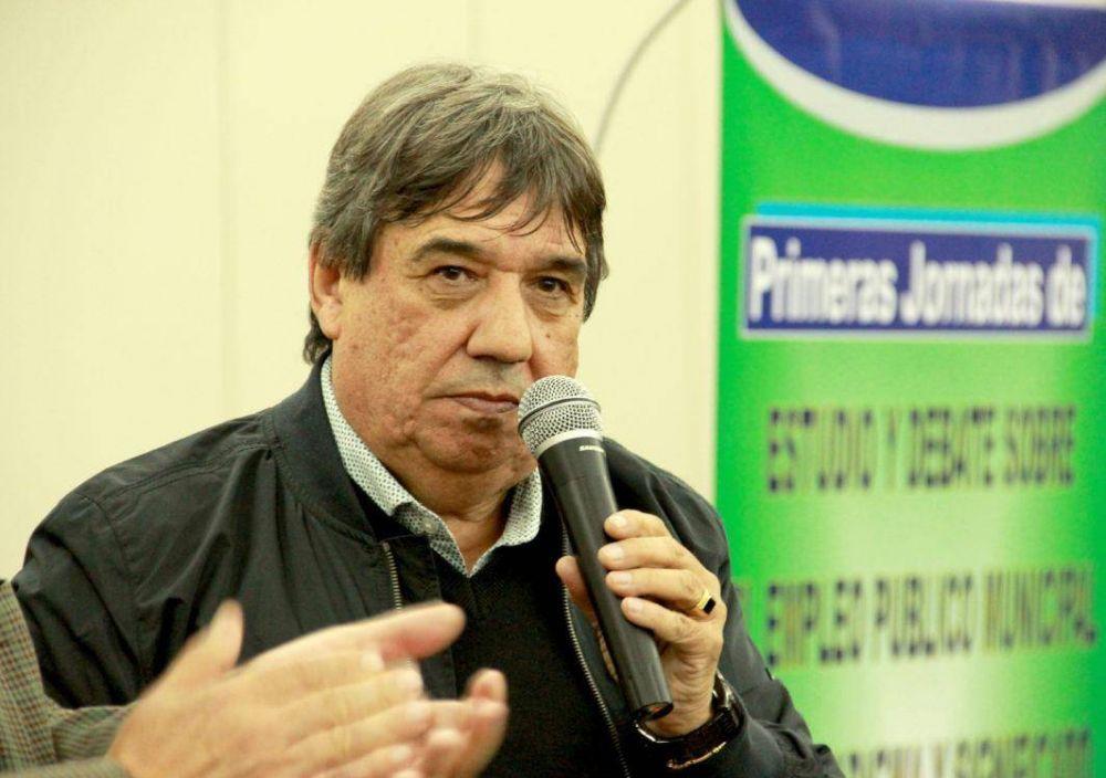 García se mostró conforme con la fórmula Fernández - Fernández y señaló como contundente la adhesión de su gremio al paro