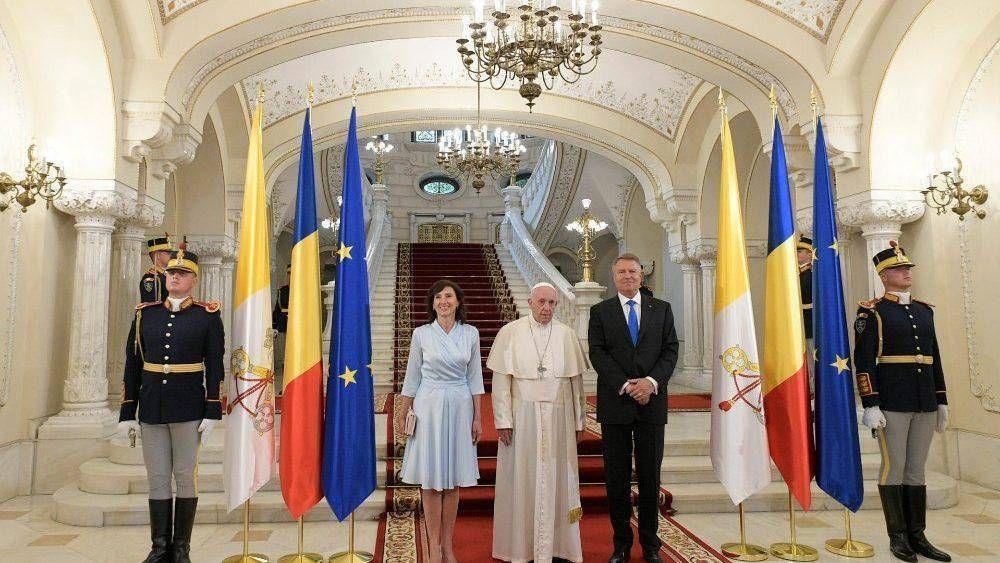 Papa Francisco. Encuentro con autoridades y sociedad civil