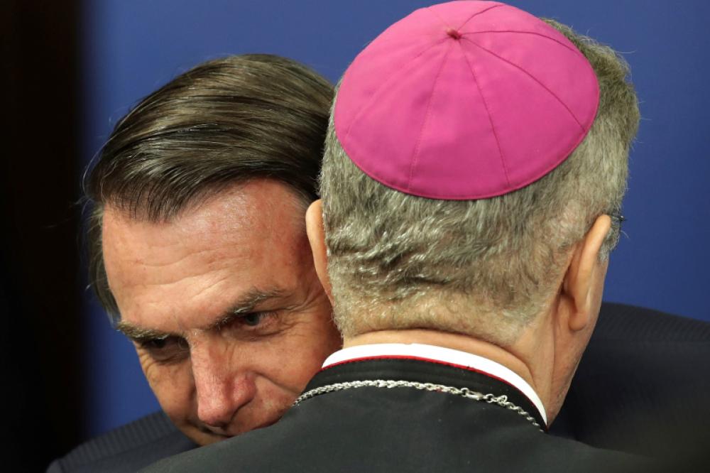 Bolsonaro recibió al nuevo titular del Episcopado brasileño