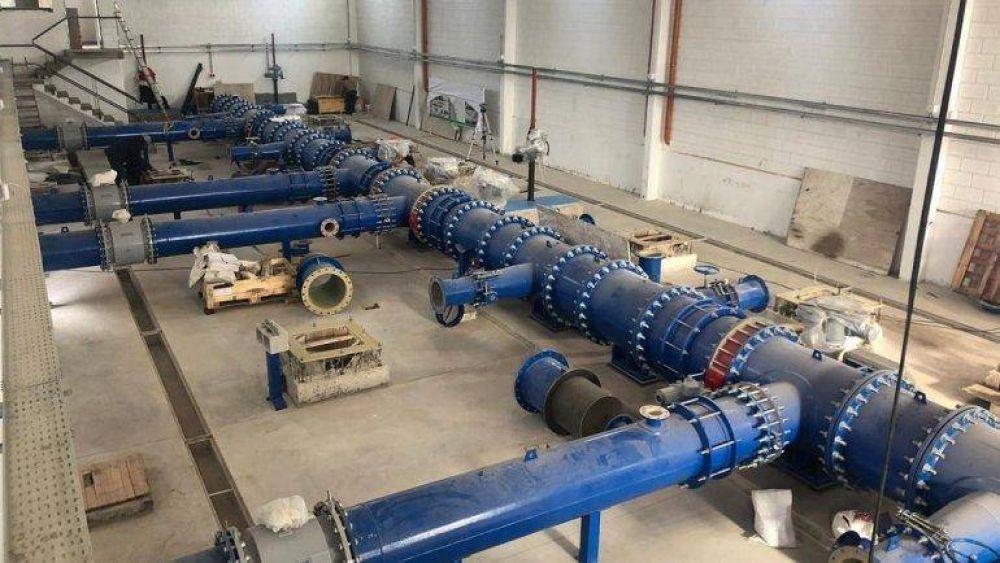Avanzan las obras en el Centro de Abastecimiento de Agua