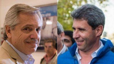 Alberto Fernández a Sergio Uñac tras el triunfo en San Juan: