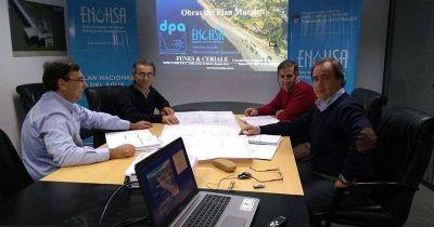 Sigue en marcha el plan maestro de aguas y cloacas para Dina Huapi