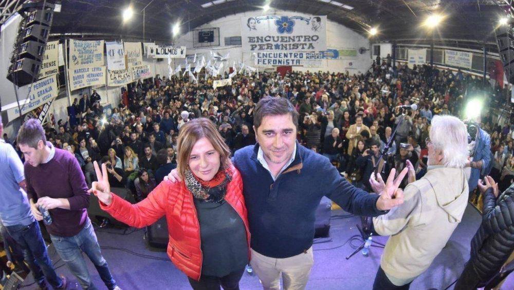 Marcelo Leyría mostró su apoyo a la candidatura de Florencia Saintout