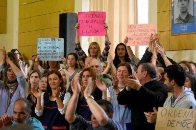 Bonificación docente: municipales en estado de alerta y movilización