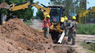 Se invirtieron más de 625 millones en obras sanitarias en el sur santafesino