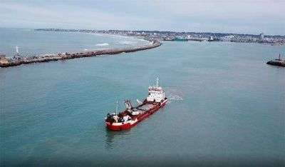 "Provincia destacó la ""importancia"" de Mar del Plata como ""gran puerto exportador"""
