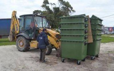 Basura en Santa Clara del Mar se depositará en contenedores y además impulsan su separación