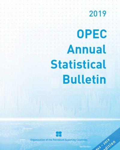 La OPEP presentó el boletín Estadístico Anual de 2019
