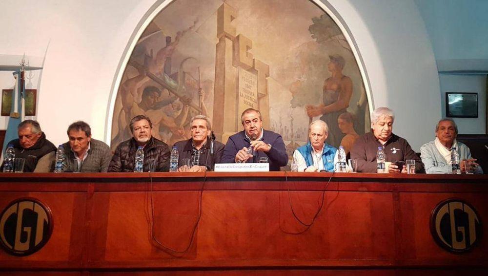 Sasia, Caló y Moser vuelven a la CGT y se teje la unidad 2020