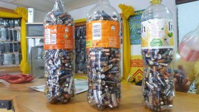 En Posadas se recopilaron más de 3.000 kilos de pilas y baterías usadas este año