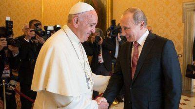 El Papa Francisco recibirá en audiencia al Presidente ruso Putin