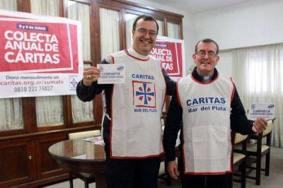 Monseñor Mestre animó a todos a ser solidarios en la Colecta Anual de Cáritas