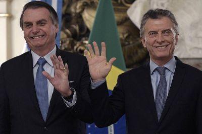 """Firme apoyo de Bolsonaro a Macri: """"No queremos más Venezuelas en la región"""""""