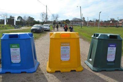 Santa Clara del Mar recicla papel, vidrio y plástico