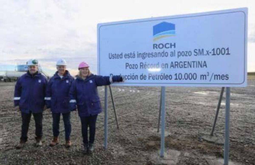 El pozo de mayor producción de Argentina en Tierra del Fuego