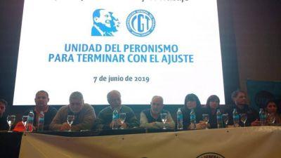 La CGT Córdoba lanzó el Movimiento Sindical de la Justicia Social en apoyo a la fórmula Fernández-Fernández