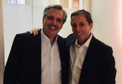 El titular del peronismo bonaerense se reunió con Alberto Fernández
