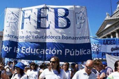 Los docentes bonaerenses reclaman la devolución de los descuentos por los días de paro