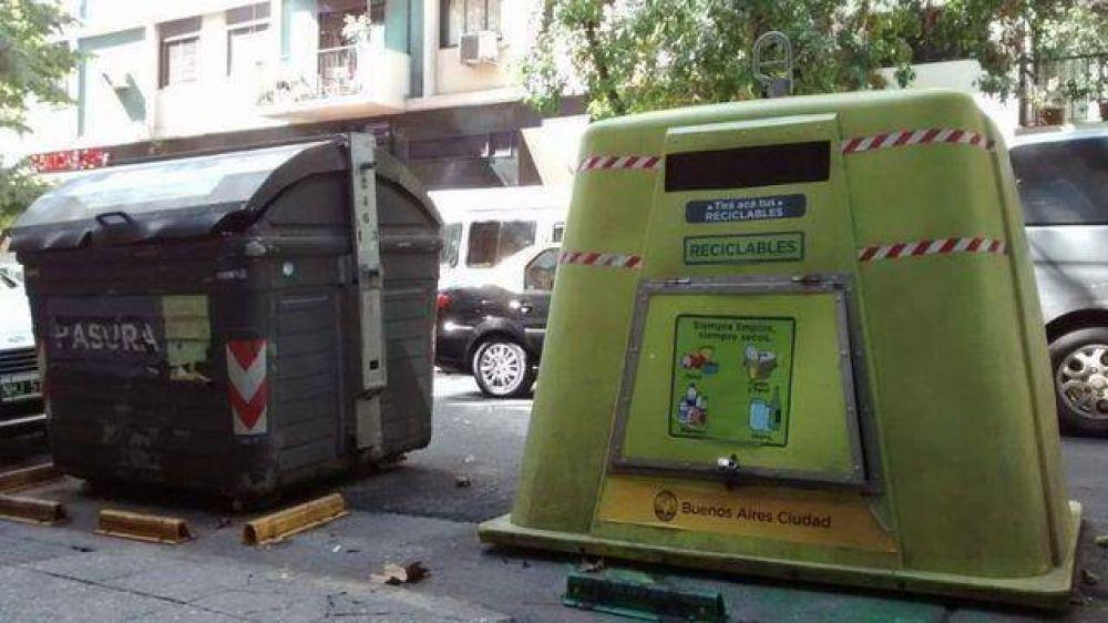 Impulsan iniciativa para que los vecinos porteños que reciclen la basura tengan un descuento en el ABL