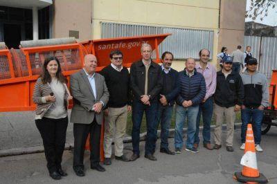 Avellaneda suma equipamiento para optimizar la diferenciación de residuos
