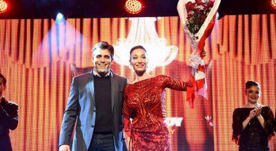 Video: Mora Godoy brilló en una gala de lujo en el Centro Vasco