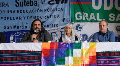 Vidal rompió el acuerdo con los docentes y le descontó el día de paro