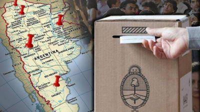 Un superdomingo con elecciones en cinco provincias redefine el panorama nacional