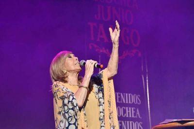 Amelita Baltar brilló en el cierre del primer fin de semana de la Ruta del Tango