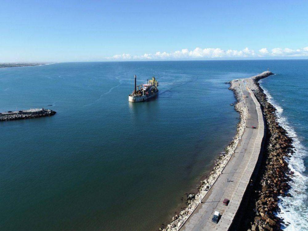 Puerto Quequén inaugura el Proceso de ejecución de la Obra de Profundización a 50 pies