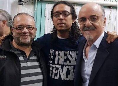 Roberto Gómez con Carlos Tomada en Capital