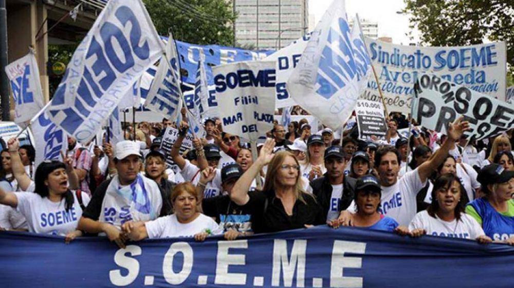 El gobierno aprovechó la intervención para encorsetar al SOEME en el 28%