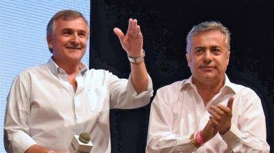 Con sus provincias blindadas, se preparan Cornejo y Morales para negociar con Macri la vicepresidencia
