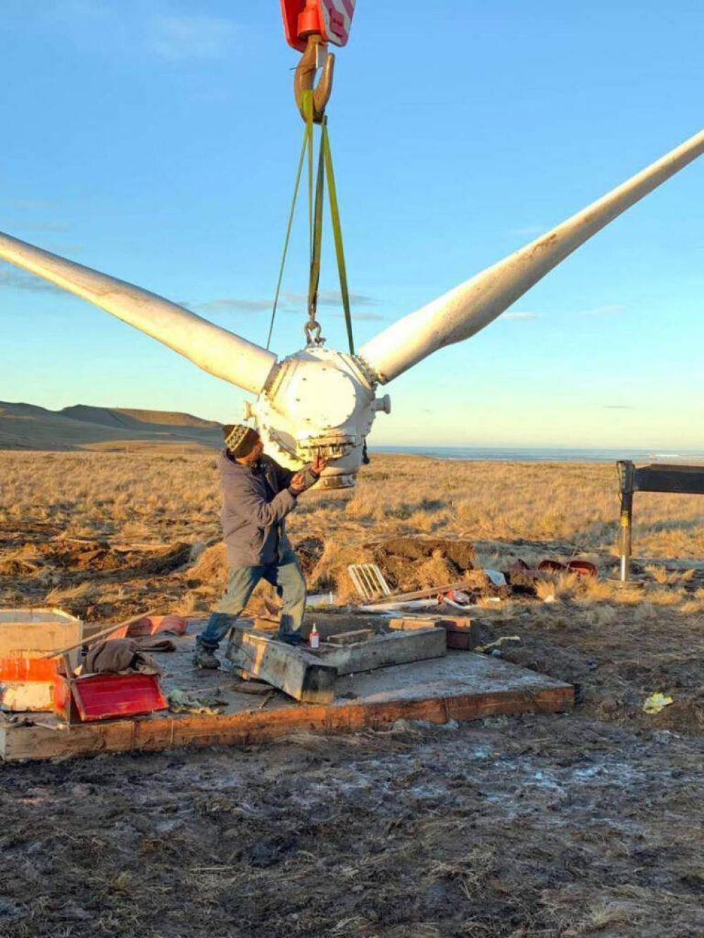 Instalaron turbina eólica experimental