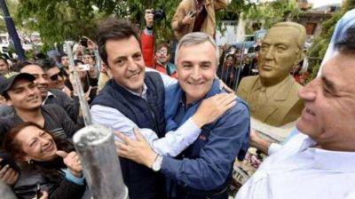Mientras negocia con CFK, Massa celebra el triunfo radical en Jujuy