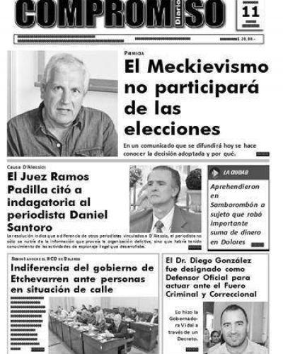 El Meckievismo no participará de las elecciones