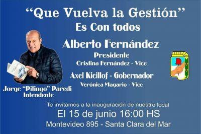"""Jorge""""Pitingo"""" Paredi vuelve a la gestión e inaugurará dos locales"""