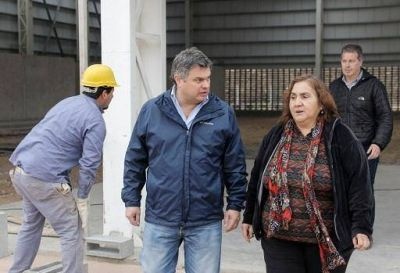 Villa Hidalgo: López Medrano, recorrió las obras del Parque Escuela