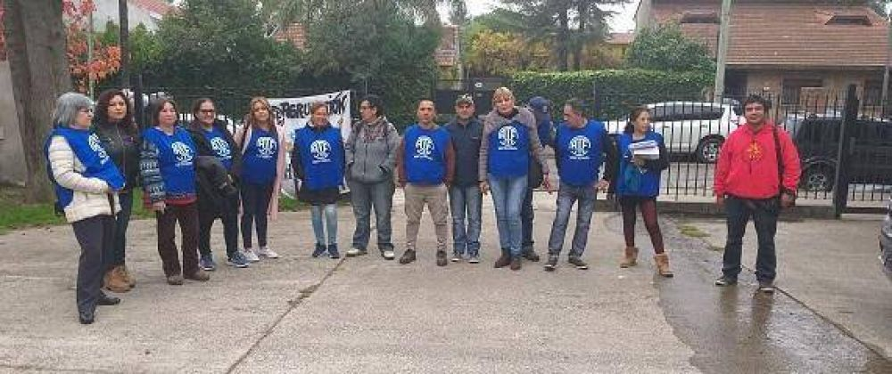 ATE Tigre reclamó a la Provincia por descuentos y atrasos