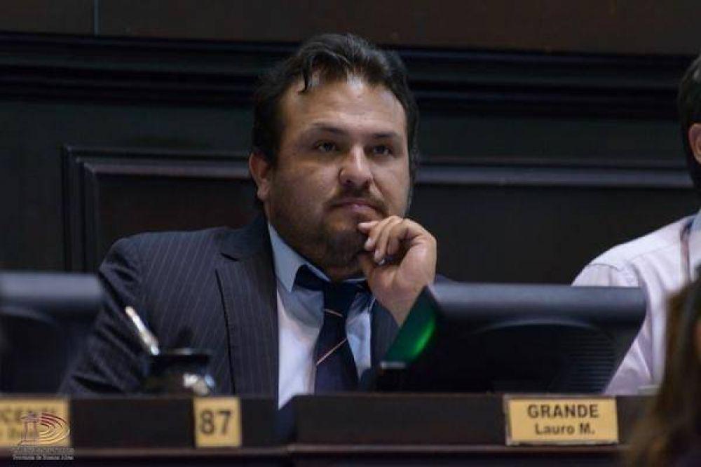 Lauro Grande no descartó que La Cámpora intente ir a internas contra intendentes peronistas