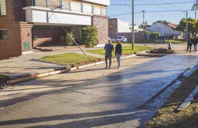 Con la reparación de Balbín y Rawson, finaliza el Plan de Bacheo Urbano de Hormigón