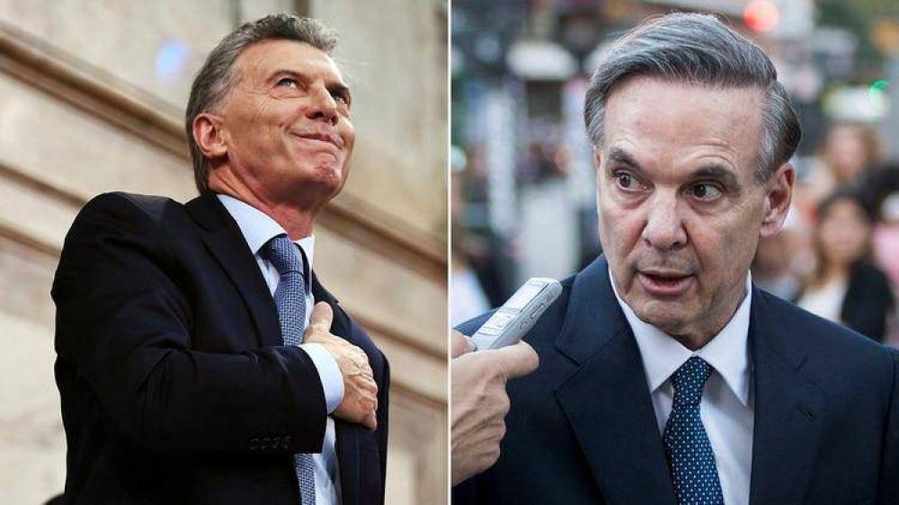Miguel Ángel Pichetto se suma hoy a las reuniones en Olivos y se define el nuevo nombre de Cambiemos: ¿Cambio Federal?