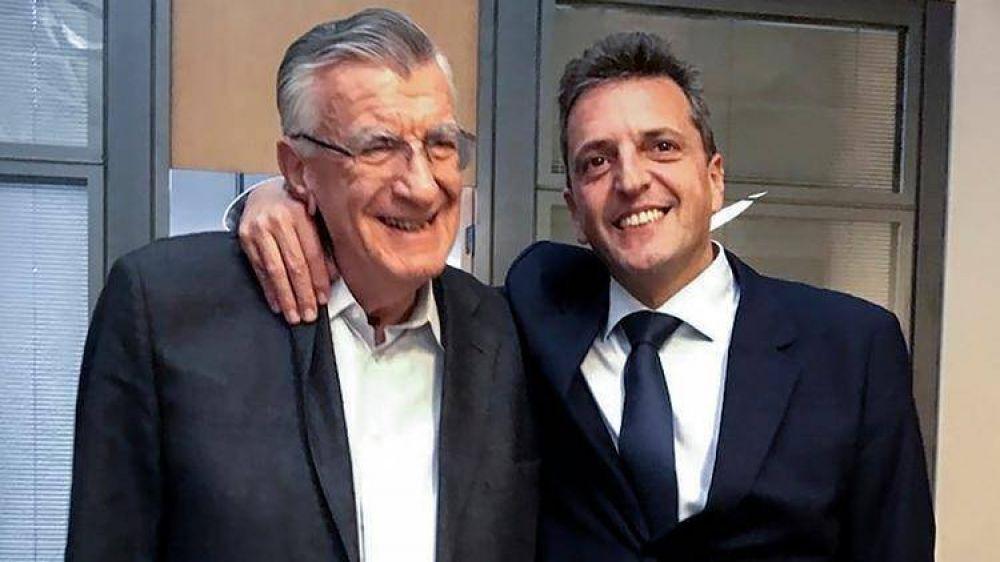 Alberto Fernández y Sergio Massa cierran su acuerdo electoral en el nuevo escenario político que se abrió con la fórmula Macri-Pichetto