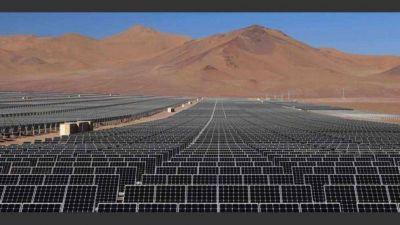 Avanzan las obras de un parque de energía solar