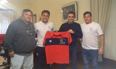 Representantes de la Copa Internacional de fútbol infanto-juvenil recibieron el apoyo municipal
